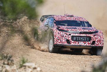 Citroën Racing effectue les premiers essais de sa World Rally Car 2017