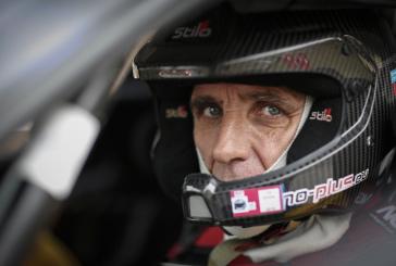 François Delecour au départ du Rallye du Chablais – liste des engagés à jour