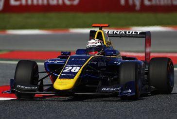 Kevin Joerg en première ligne de sa première course en GP3