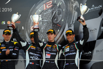 Pole Position and Podium for GRT Grasser Racing at Silverstone