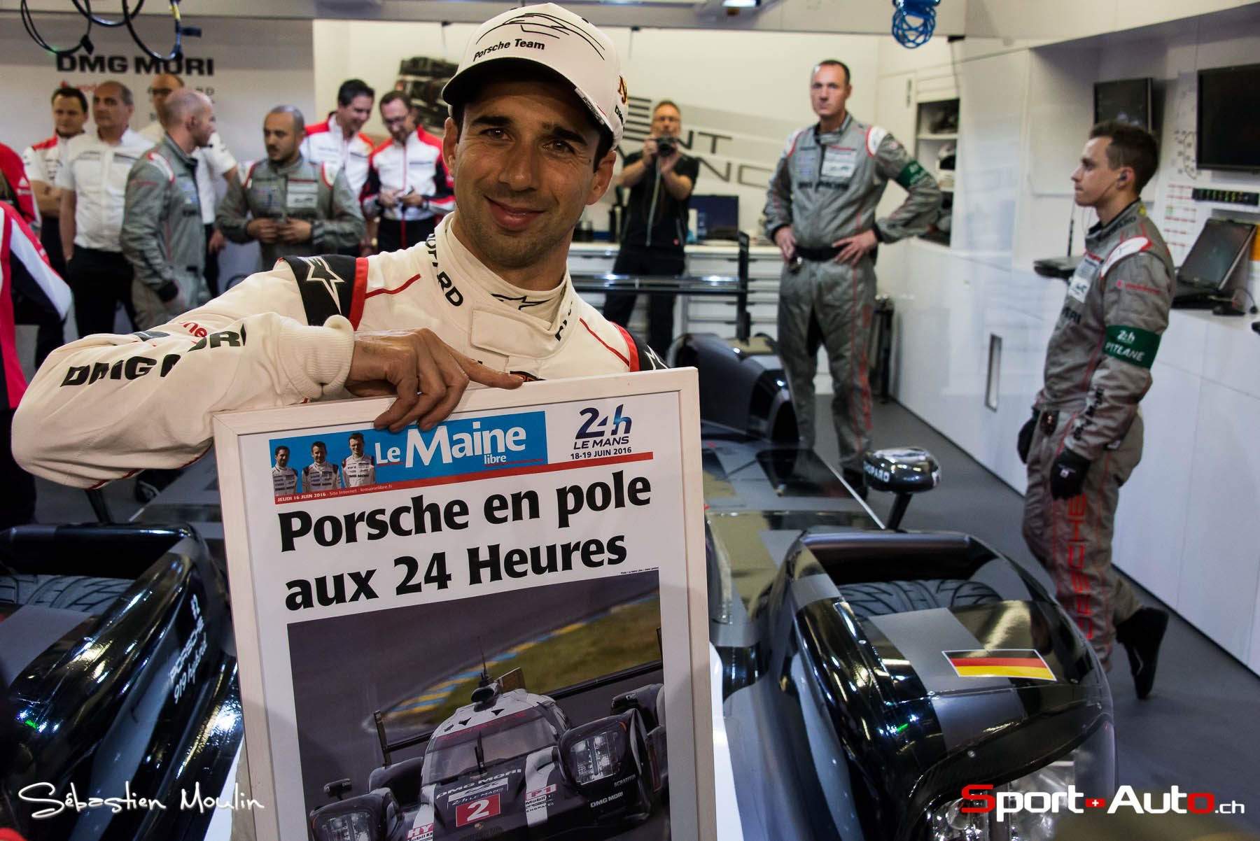 24h du mans 2016 neel jani signe la pole position sport. Black Bedroom Furniture Sets. Home Design Ideas