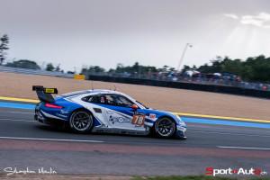 Joël Camathias et la Porsche 911 RSR #78 du KCMG