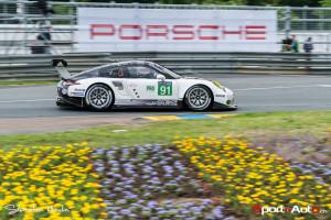La Porsche 911 RSR #91 de Patrick Pilet
