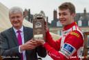 24h Mans 2016 – Mathéo Tuscher honoré lors de la parade des pilotes