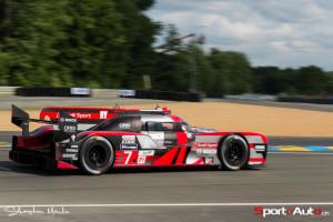 La Toyota R18 #7 de Marcel Fässler