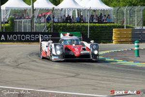 La Toyota de tête, celle de Sébastien Buemi!