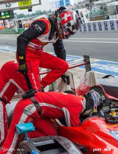 Niki Leutwiler prend son relai (Oreca #34 de Race Performance)!