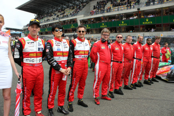Reliability Record for Race Performance at Le Mans – six starts, six finishes