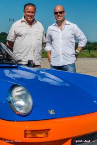 Jean-Claude Béring et Didier Denat