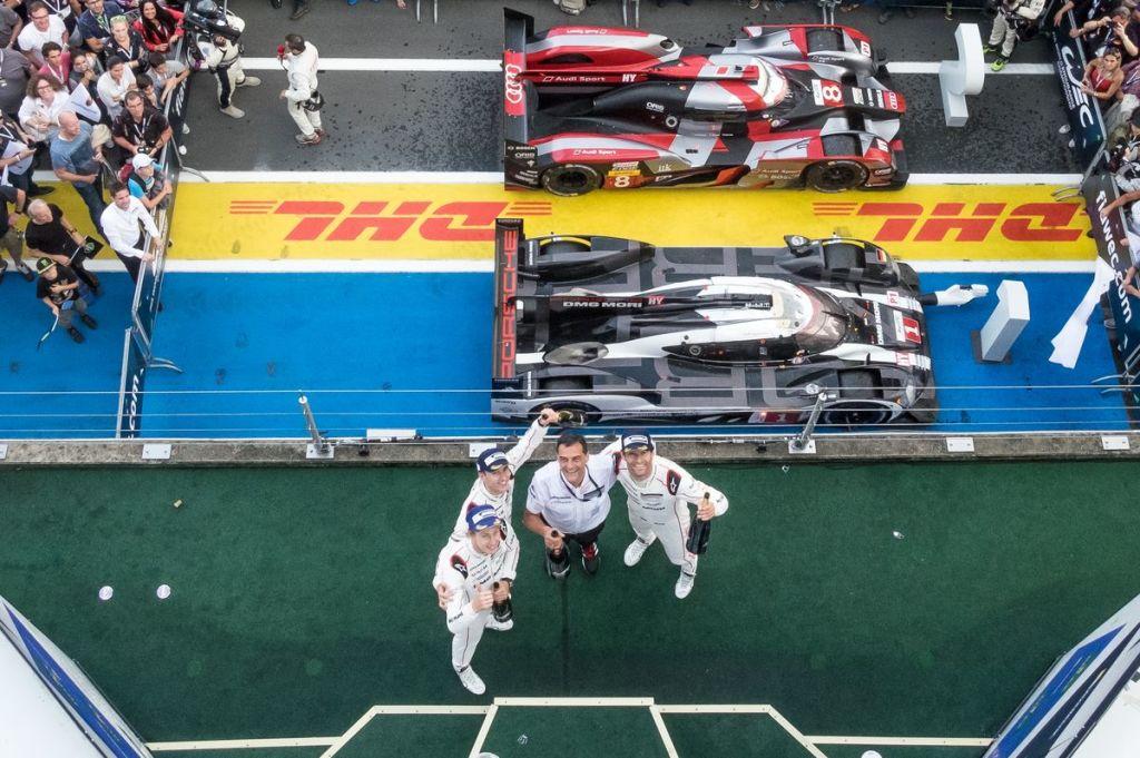 LMP1-H Podium at the WEC 6 Hours of Nurburgring - Nurburgring - Nurburg - Germany