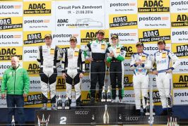 Audi duo Frey and Geipel win Race 2 in ADAC GT Masters at Zandvoort