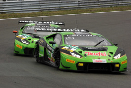 Lots of bad luck after strong start for GRT Grasser Racing Team at Zandvoort