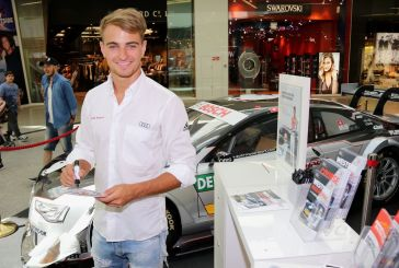 Audi-Pilot Nico Müller beim Westside Race Festival
