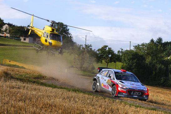 Double podium joy for Hyundai Motorsport at home in Rallye Deutschland
