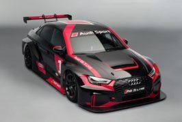 Audi launches RS 3 LMS TCR car in Paris