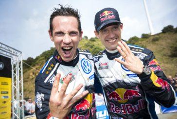 WRC – Sébastien Ogier remporte son quatrième titre de Champion du Monde
