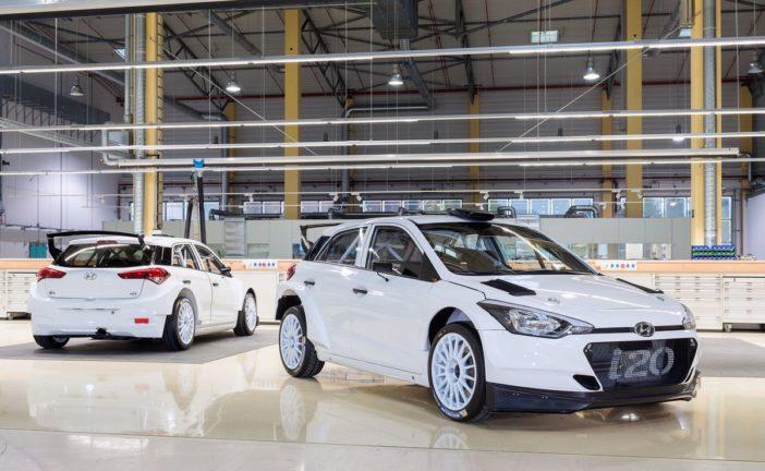 Hyundai i20 R5 im Kundensporteinsatz erstmals in Deutschland am Start