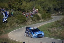 WRC – Østberg takes fifth in Spain