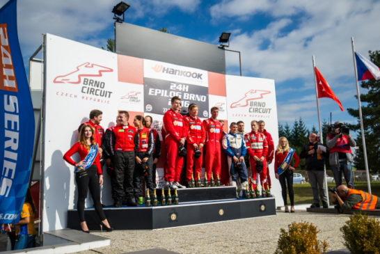 24h Series – Scuderia Praha Ferrari dominates the Hankook 24H EPILOG BRNO, Hofor Racing 2nd