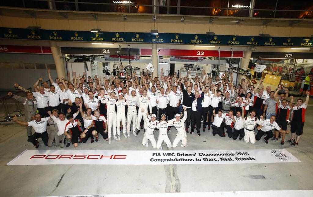 Porsche Team FIA WEC Drivers Championship