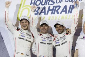 Porsche Team: Marc Lieb, Romain Dumas, Neel Jani