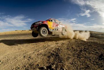 Nasser Al-Attiyah and Giniel de Villiers join forces for Dakar challenge