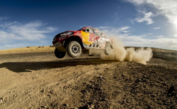 Nasser Al-Attiyah and Giniel de Villiers join forces for Dakar challenge