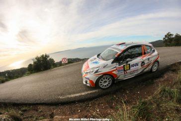 Rallye du Var : Jérémie Toedtli 3ème de la 208 Rally Cup !