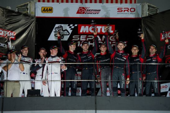 Stunning win for Audi at Sepang 12 Hours