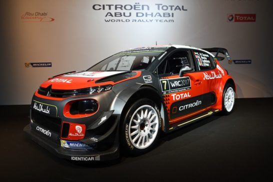 Citroën begins a new chater in its sporting history with the C3 WRC
