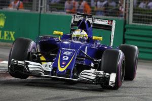 Marcus Ericsson (SWE) Sauber F1 Team. Marina Bay street Circuit.