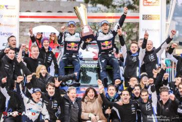 Rallye Monte-Carlo 2017 : Sébastien Ogier (Ford) s'impose, Burri excellent 14e