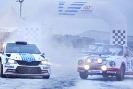 ŠKODA marks 40 th anniversary of legendary win at the Rally Monte Carlo