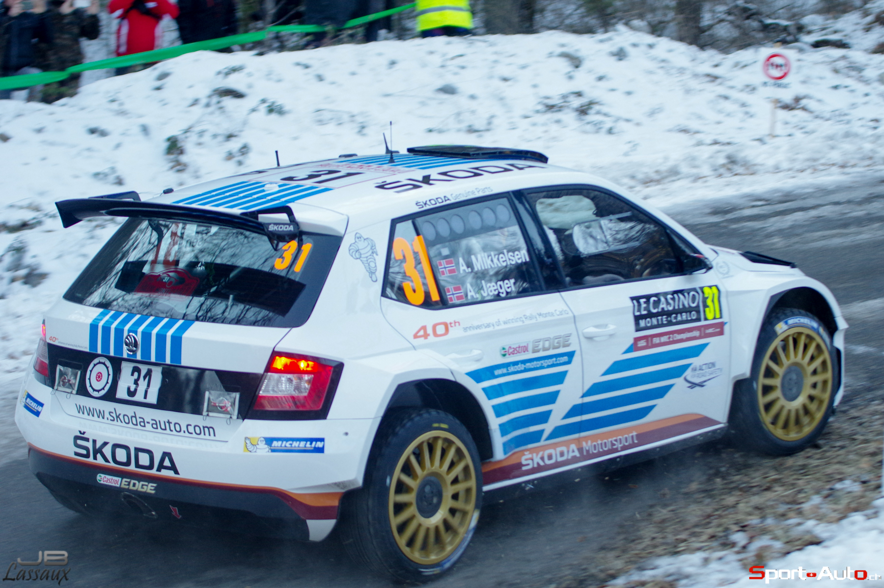 "Triumph at the ""Monte"": Mikkelsen sets milestone in ŠKODA success ..."
