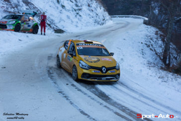 Strong showing for the Renault Clio R3Ts at the Rallye Monte-Carlo