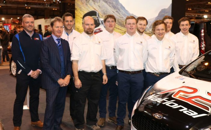 M-Sport support aspiring Automotive Students