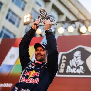2e place au Dakar 2017 pour Séb Loeb sur Peugeot 3008 DKR