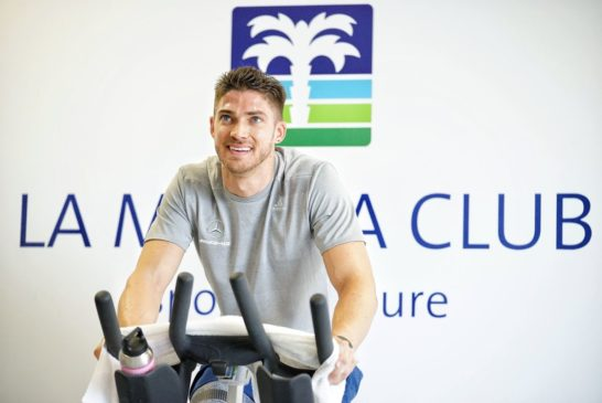 "First time for Edoardo Mortara at the fitness camp: ""Obviously, there is also a competitive element"""
