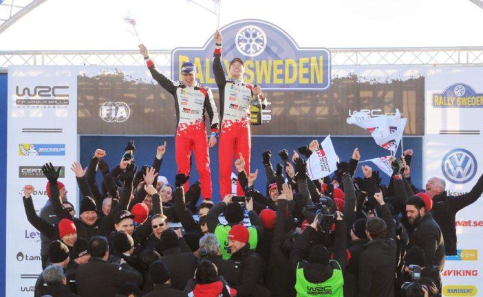Jari-Matti Latvala offre la victoire à Toyota