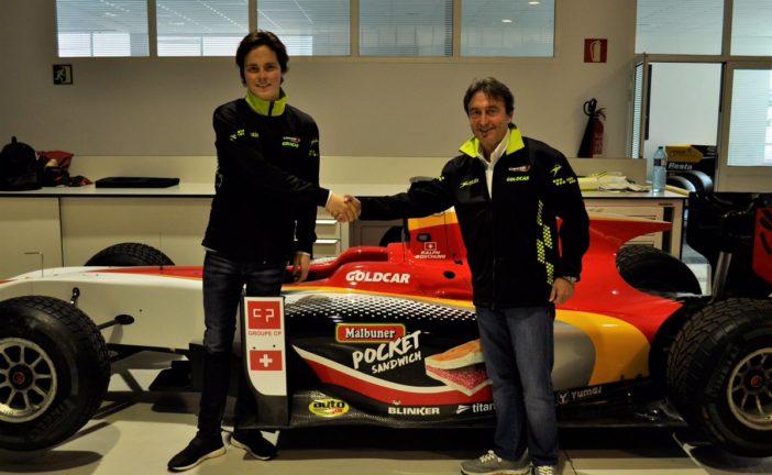 Ralph Boschung en FIA Formula 2 avec le Campos Racing