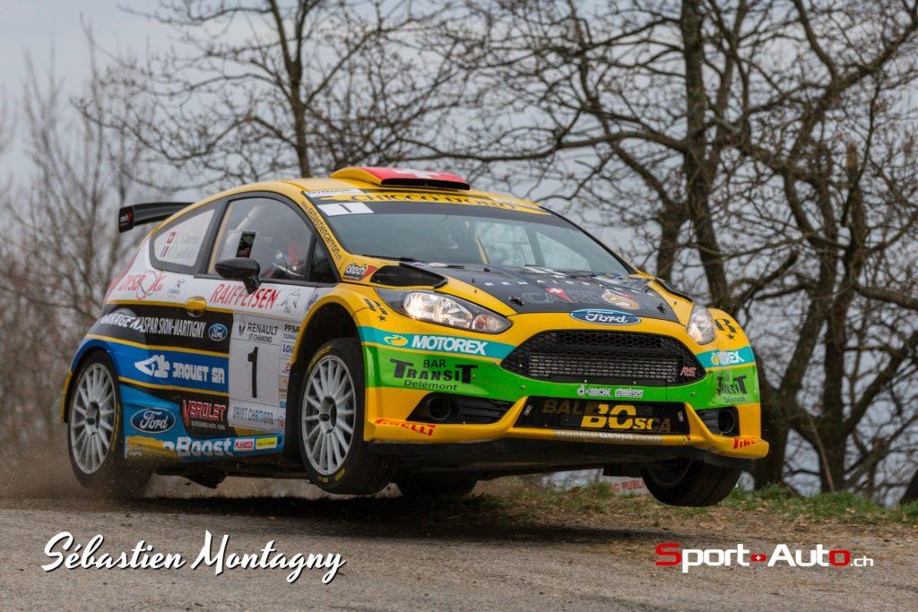 Carron - Landais - Rallye Gier 2017 - photo Sebastien Montagny