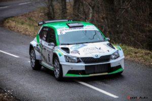 Nicolas Althaus - Alain Ioset - Skoda Fabia R5 - Rallye Pays du Gier 2017 - photo Massimo Prati - Sport-Auto.ch