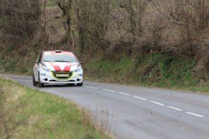 Niki Buhler - Julian Stella - Peugeot 208 R2 - Rallye Gier 2017 - photo Championnat Suisse Rallye Junior