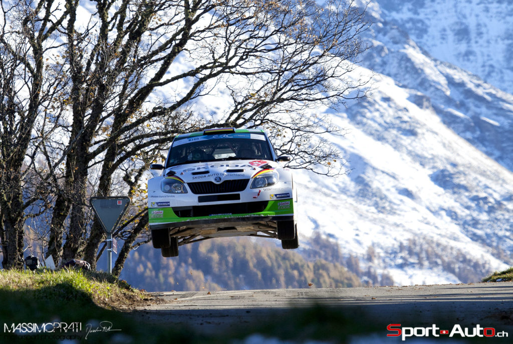 Rallye du Valais RIV saut des Masses - photo Massimo Prati