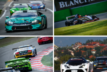 Action-packed weekends for the Blancpain GT Series
