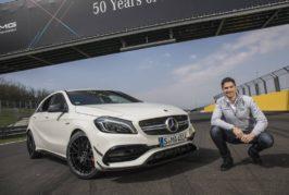 Six questions au Genevois Edoardo Mortara sur le Hungaroring: «J'adore les AMG compactes»