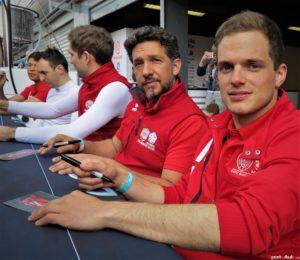 05-Simon Trummer (tout à droite) et Jonathan Hirschi (2e depuis la gauche)@Photo Laurent Missbauer