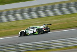 Zehn Audi R8 LMS im ADAC GT Masters