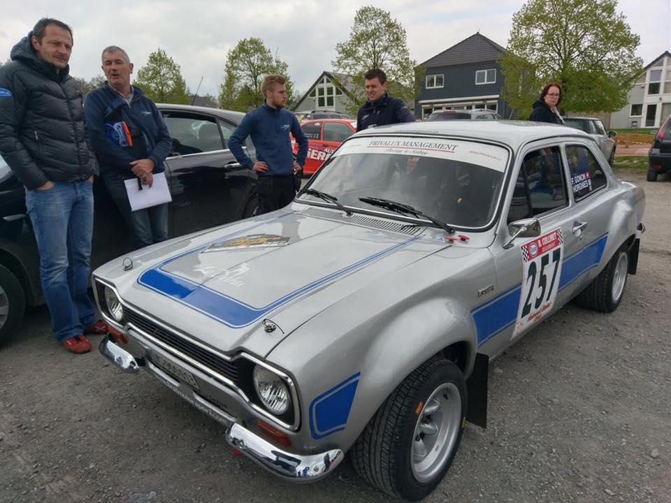 Florian Gonon - Ford Escort Mk1 - rallye Salamandre 2017