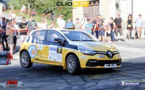 Olivier Courtois Hubert Risser - Clio R3T Alps Trophy